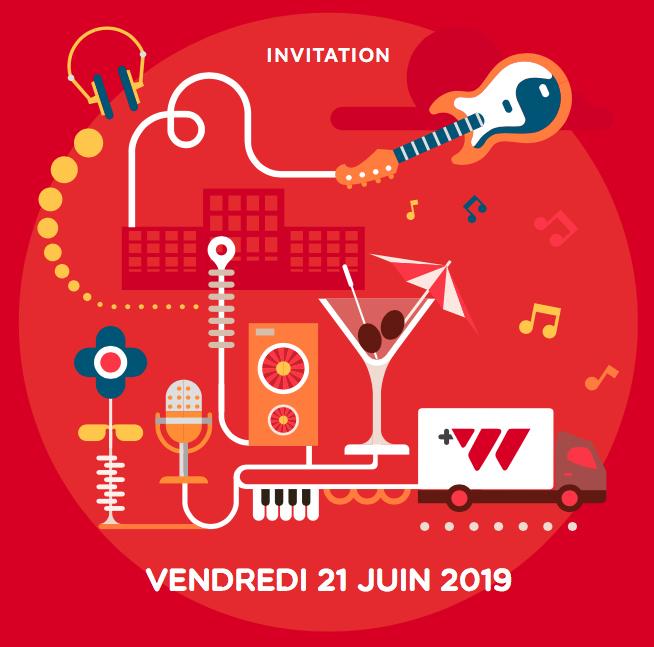 Warning invitation Fête de la musique
